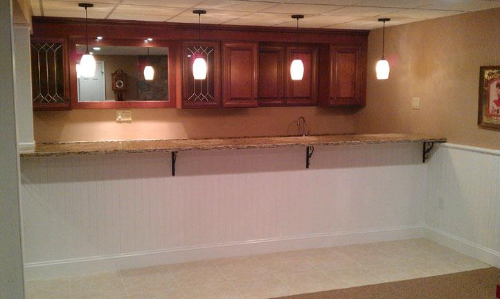 Dietrich basement quakertown pa for Kitchen cabinets quakertown pa