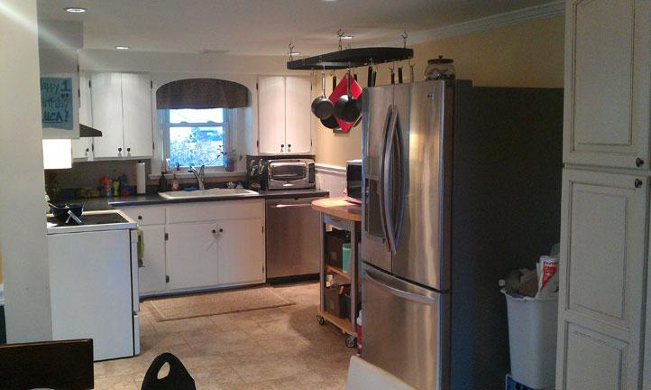 this telford pa kitchen was badly out of date and lacked a functional layout and work space. Black Bedroom Furniture Sets. Home Design Ideas