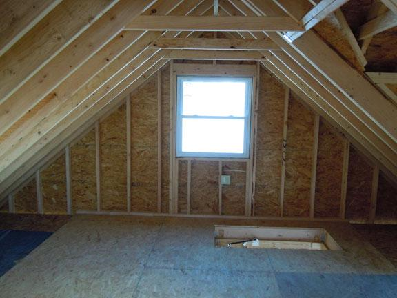 Drumm design remodel north wales most experienced for Garage attic storage
