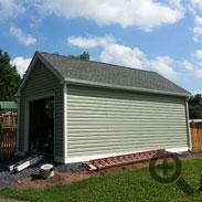 Drumm Shed and Fencing
