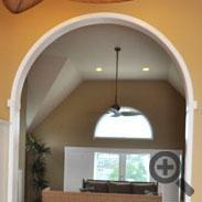 Dining Room Archway and Trim - Cape May, NJ